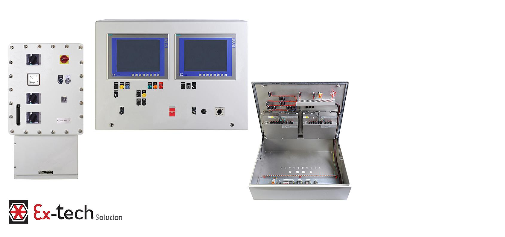 | FRANCE | Ex-tech Solution |  Fournisseur de systèmes et de solutions ainsi que de nombreux équipements standards et personnalisés, destinés aux atmosphères explosibles.